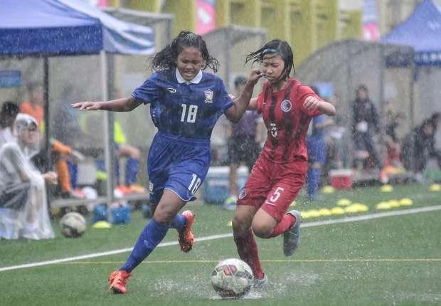 ทีมฟุตบอลหญิงทีมชาติไทย U14  แชมป์จากฮ่องกง