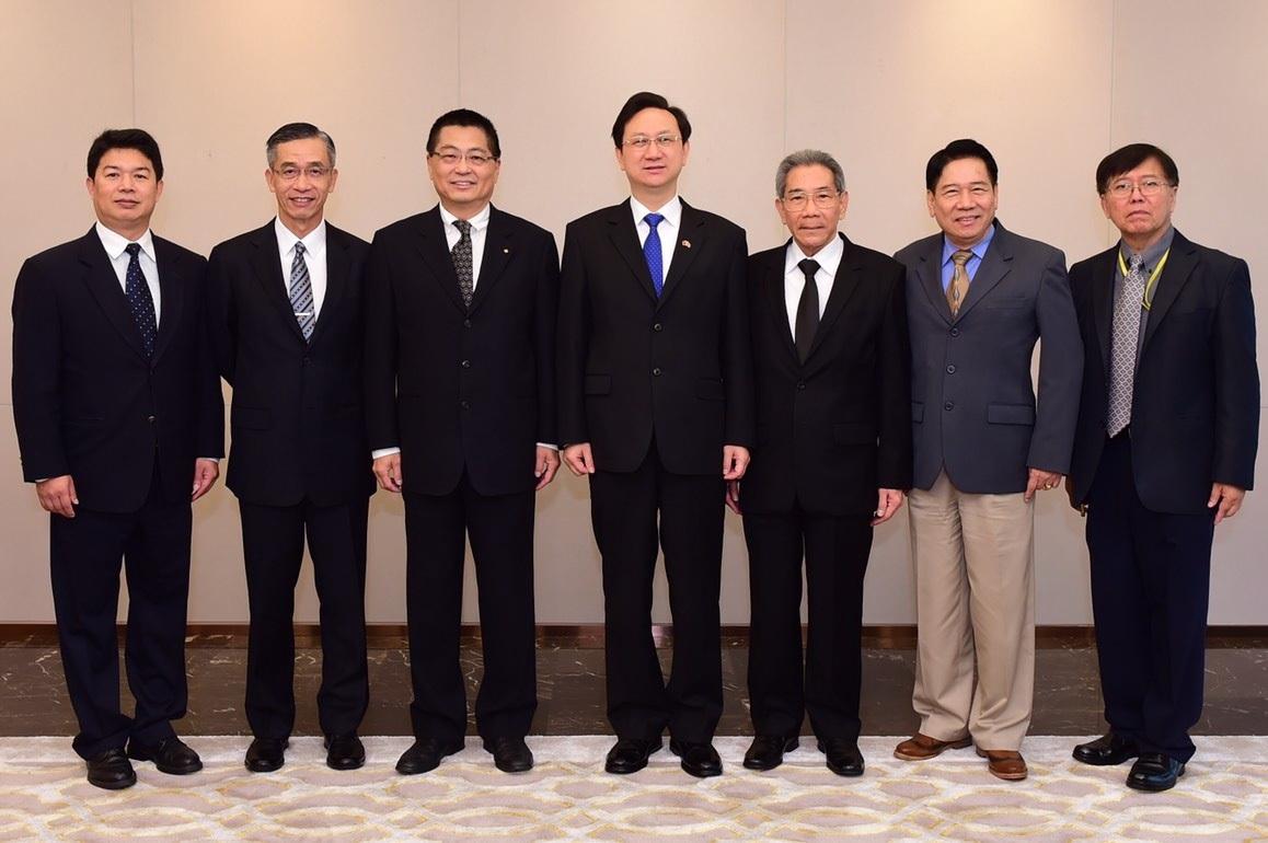 ผู้บริหารเครือCPต้อนรับผู้แทนรัฐบาลไต้หวัน ประจำประเทศไทย