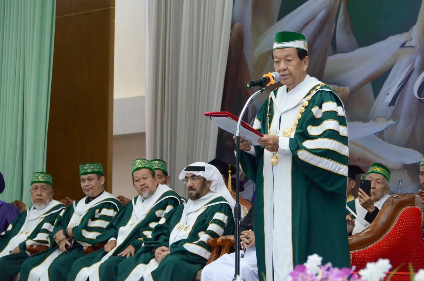 มหาวิทยาลัยฟาฏอนี จัดมอบปริญญาผู้สำเร็จการศึกษาปี 61