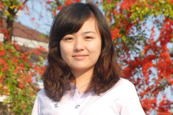 'หลี่ หลิง เสี่ยว เหยียน'สาวจีนชนะเลิศประกวดสุนทรพจน์ภาษาไทย