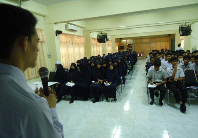 ชมรมนักศึกษามุสลิม ม.วลัยลักษณ์ เดินสายแนะแนวการศึกษา